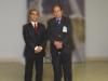 il dr Leone con il presidente Forestiere